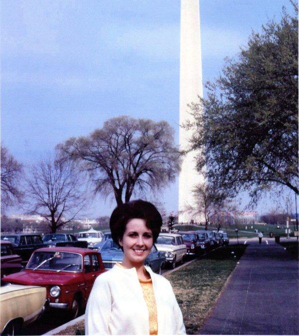 Nancye in 1968 at DC