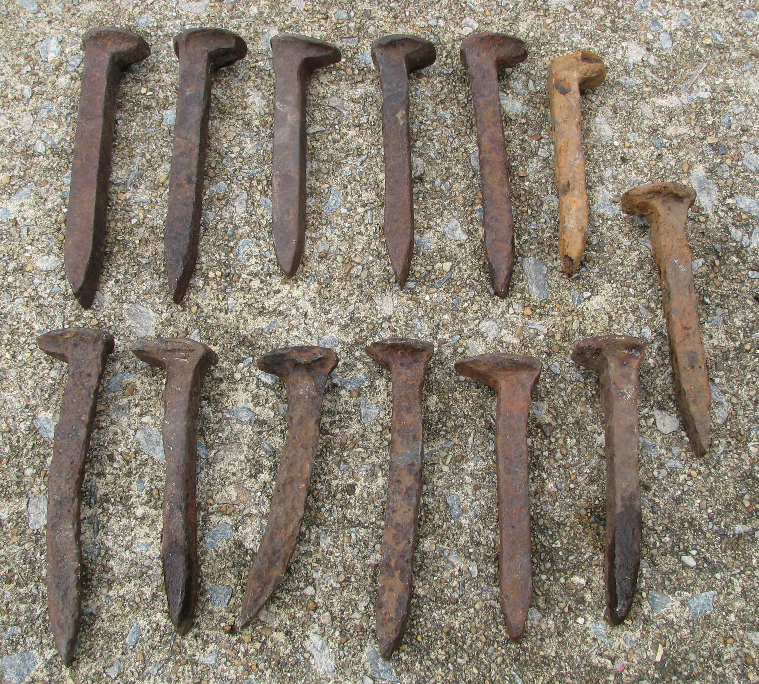 old railroad spikes for sale