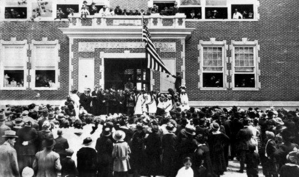 Sentinel 1940s Stonewall Elementary School Newspaper